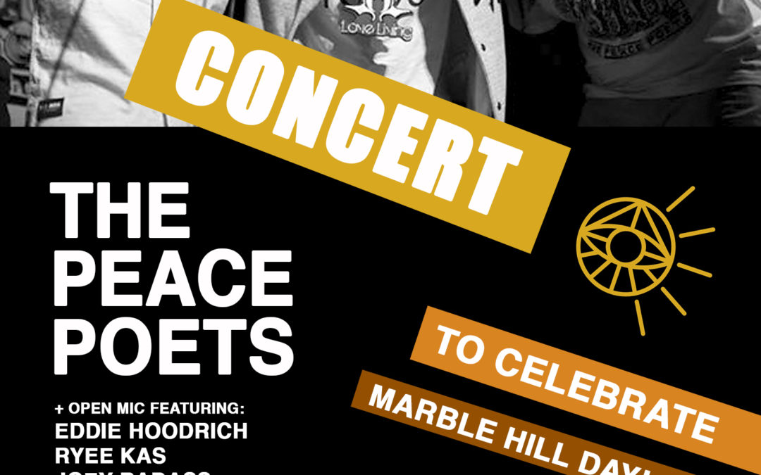 Peace Poets Concert at Marble Hill