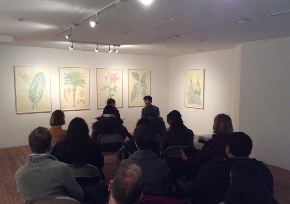 Panel Discussion: Juanli Carrion & Sara Reisman: at Y Gallery